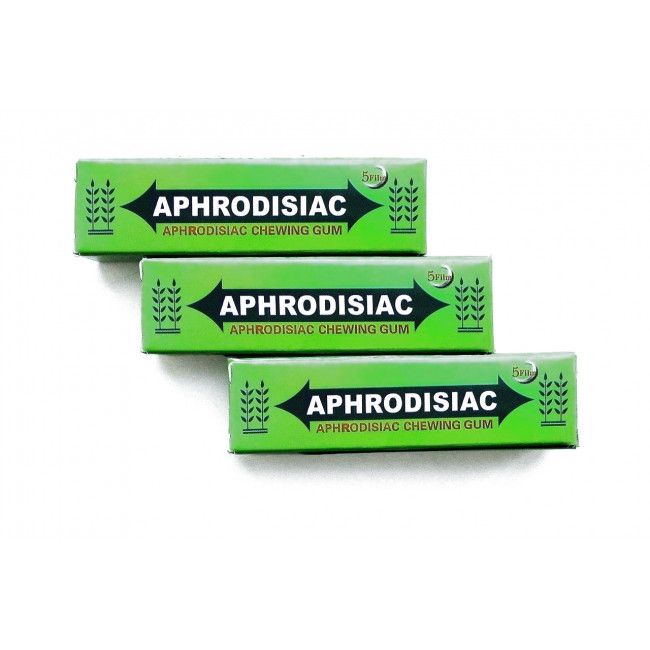 Aphrodosiac- возбуждающая жевательная резинка  | Био Маркет